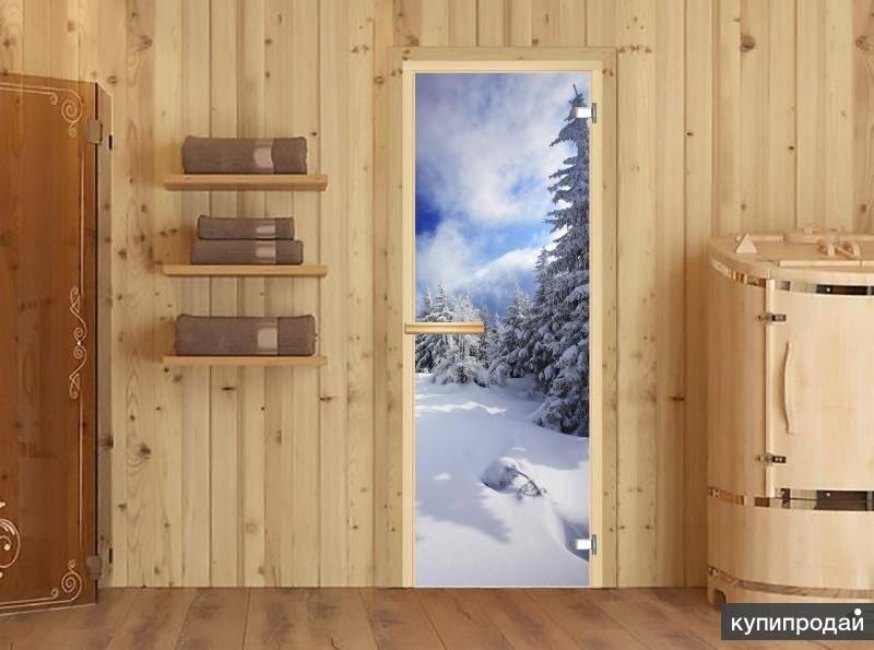 Стеклянная дверь для бани: советы по выбору и правильной установке