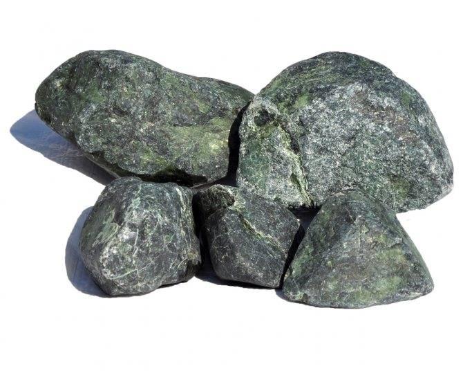 Дунит – редкий камень для бани