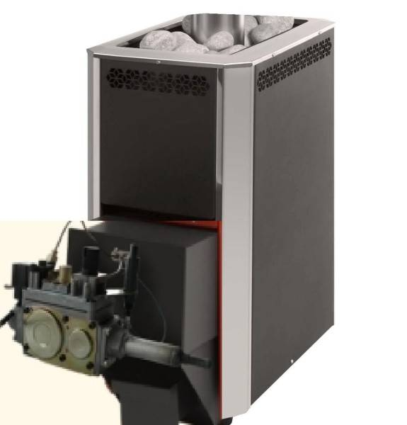 Газовая печь для бани: преимущества и недостатки, как выбрать, монтаж своими руками