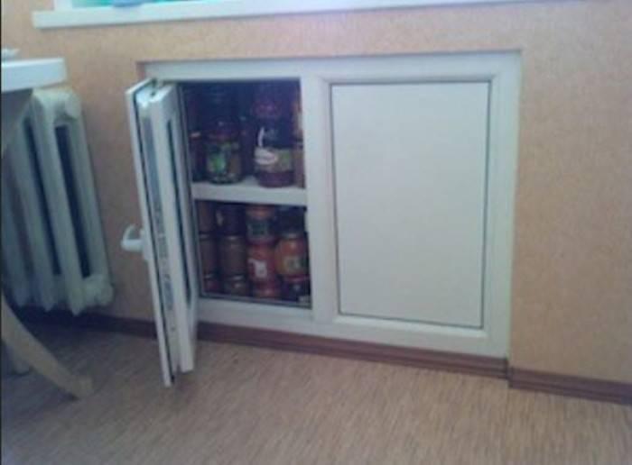 Хрущевский холодильник: ремонт холодильника под окном в хрущевке