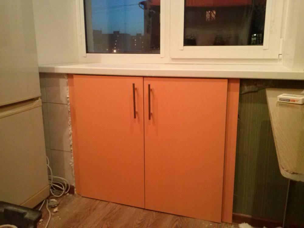 """Как использовать нишу по окном на кухне в """"хрущевке"""""""