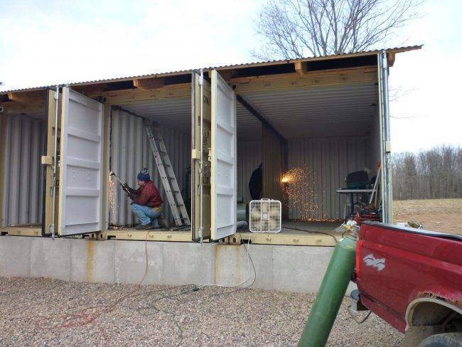Делаем своими руками жилье из контейнеров. рекомендации и фото