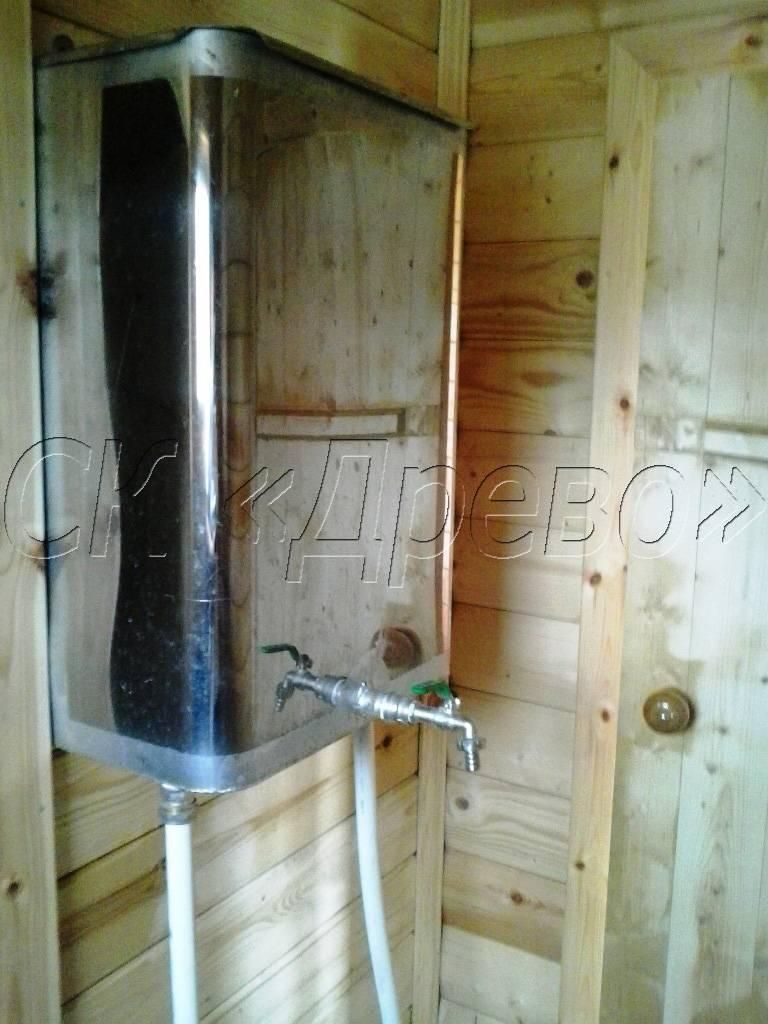 Бак для горячей воды в баню: как выбрать, где и как установить