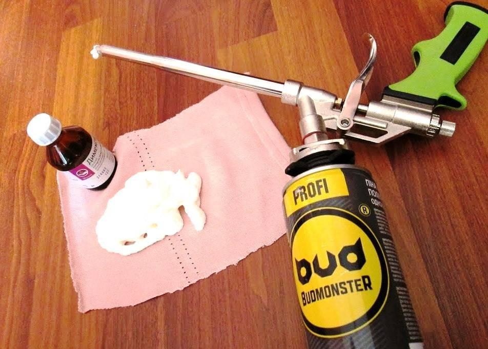 Чем отмыть монтажную пену с рук в домашних условиях   советы и рекомендации от специалистов