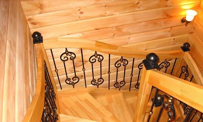 Кованые перила: обзор разновидностей по виду ковки и стилю, советы по выбору, способы установки