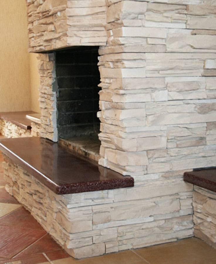 Облицовка печи керамической плиткой своими руками: правильная технология
