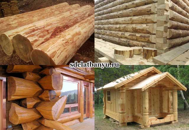 Из чего лучше строить баню: дерева, блоков, кирпича +отзывы