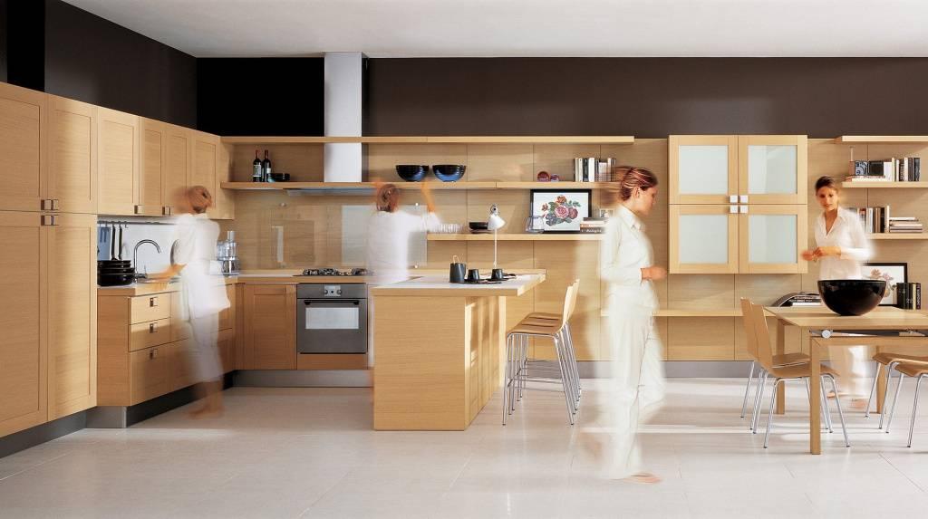 Рабочая зона на кухне и ее особенности обустройства