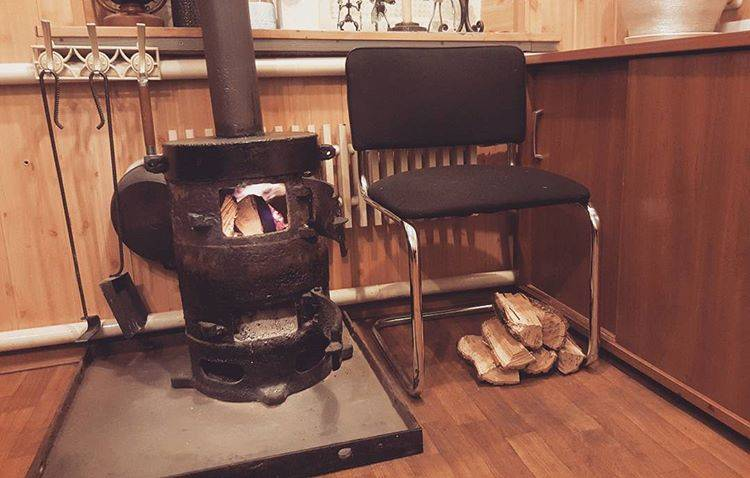 Печка для дачи на дровах буржуйка - лучшее отопление