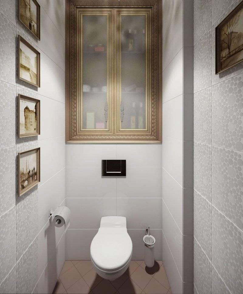 Обои в туалете: виды, идеи, комбинирование, поклейка, 60 фото в интерьере