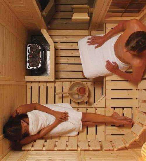 Малогабаритная баня своими руками