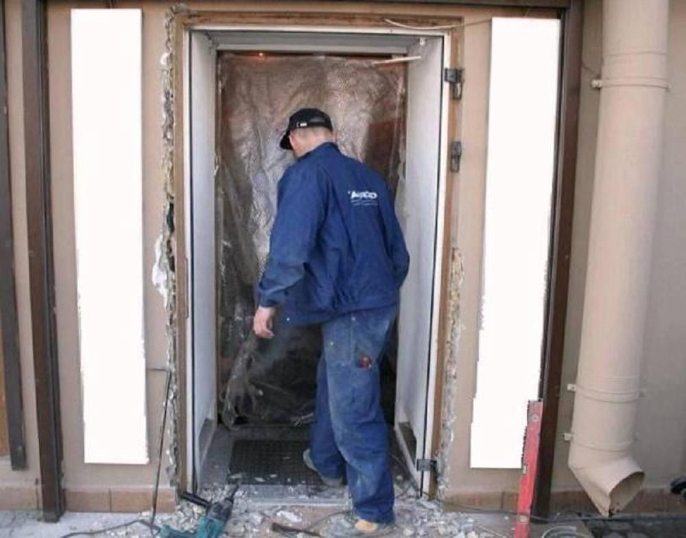 Проблемы перекоса дверей
