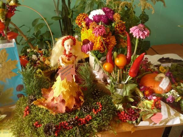 Поделки «дары осени» своими руками из природных материалов. поделки «дары осени», идеи для детского сада и школы