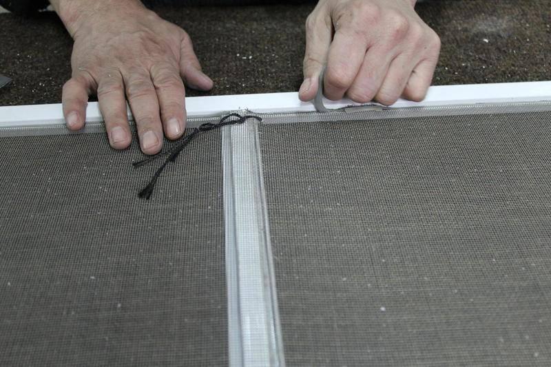 Москитная сетка своими руками: как сделать сетку для пластикового и деревянного кона