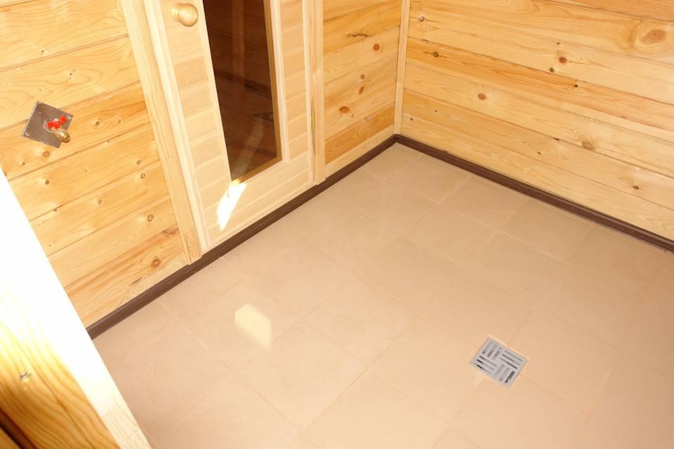 Как правильно положить плитку в бане?