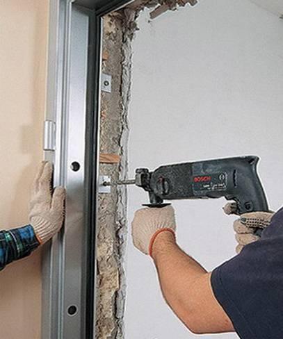 Правильная установка металлической входной двери своими руками
