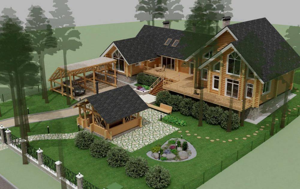 5 этапов строительства дома с баней под одной крышей [+11 фото]