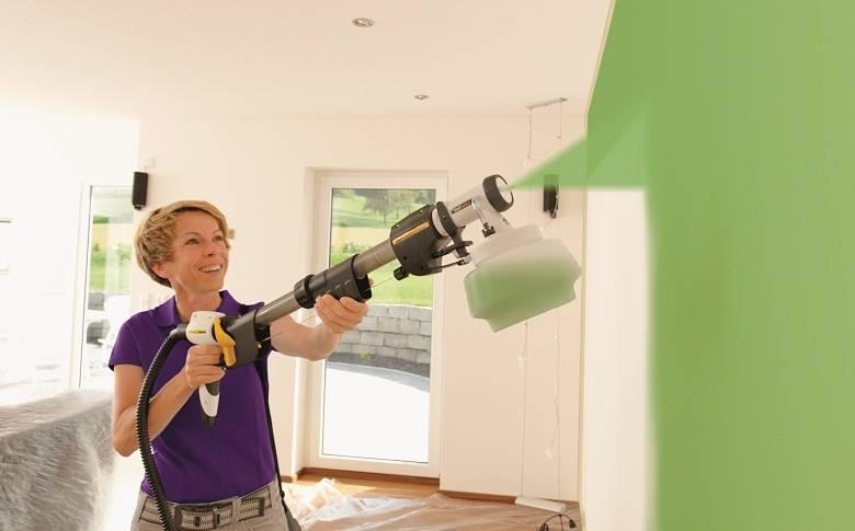 Как красить потолок водоэмульсионкой без разводов