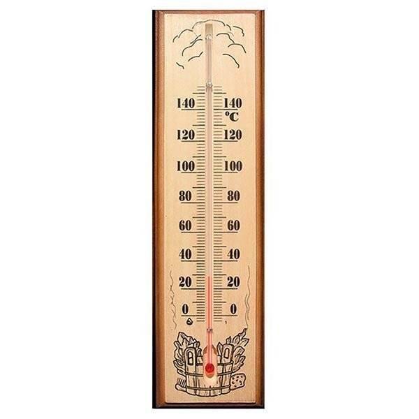 Необходимый аксессуар – термометр для бани и сауны