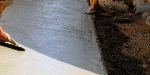 Железнение бетона как лучший способ укрепить поверхность