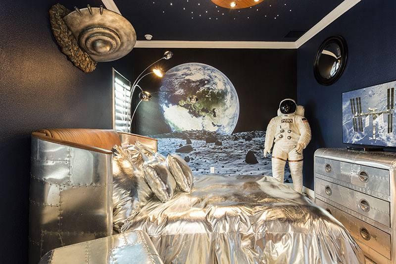 25 оригинальных идей для дизайна интерьера в космическом стиле