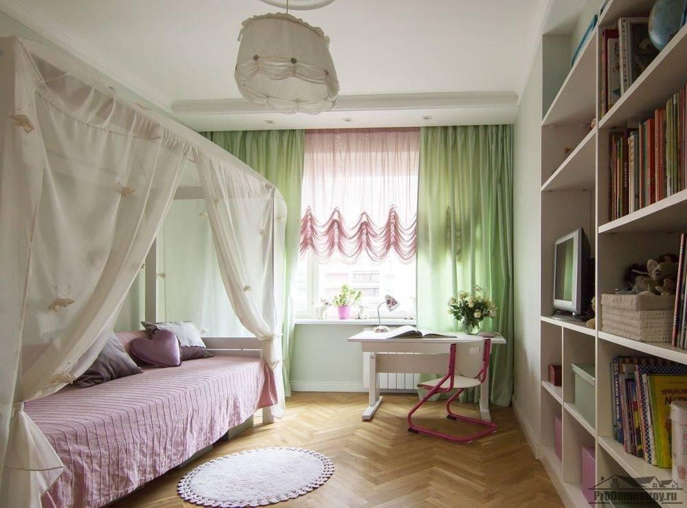 Шторы в детскую комнату для девочки: разнообразие моделей в подборке фото