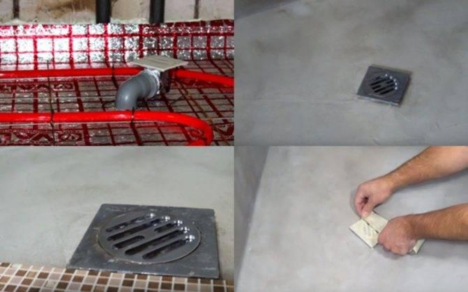 Технология устройства горячего протекающего пола: пример реализации в отдельно взятой бане