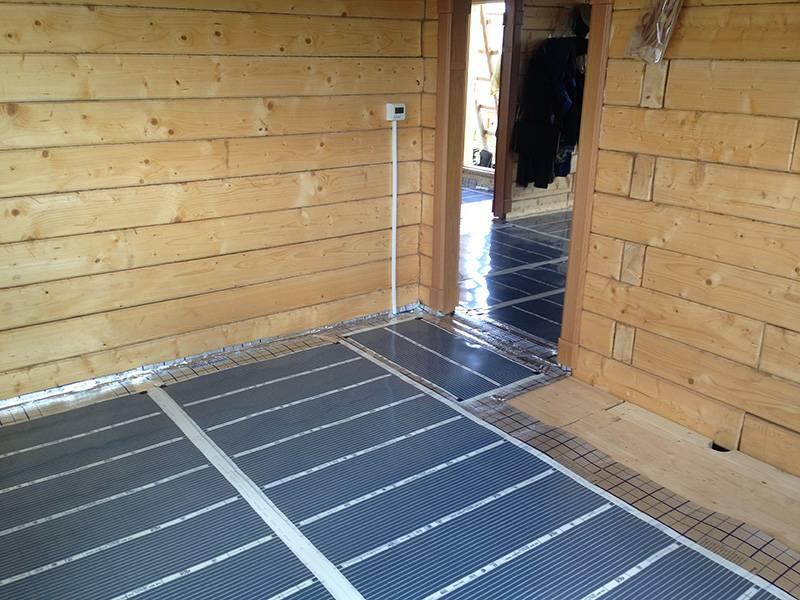 Теплый пол в бане: как сделать электрический вариант своими руками, какой лучше под плитку, конструкции с обогревом от водяной печки