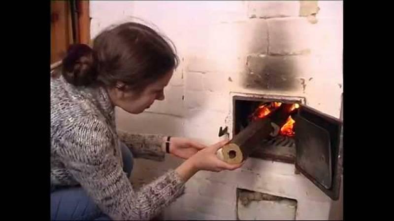 Как топить печь.