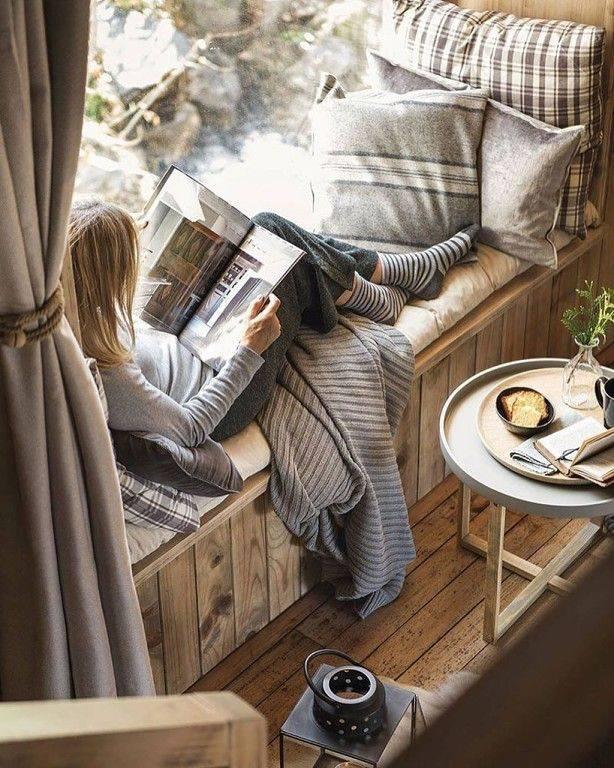 Уютные места в комнате: тепло и безмятежность родного дома