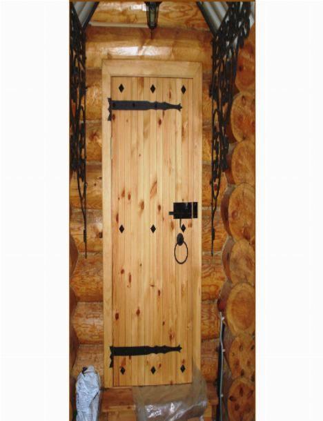 Дверь в баню своими руками: деревянная из доски, размеры