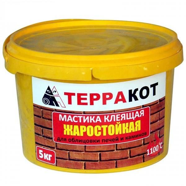 Термостойкий клей для печей и каминов, плиточная жаростойкая смесь для облицовки плиткой, жаропрочный состав геркулес для кладки