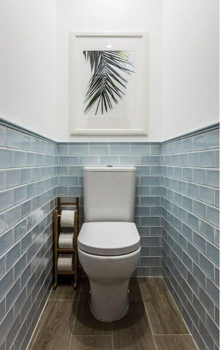 100 больших идей для маленького туалета: дизайн на фото