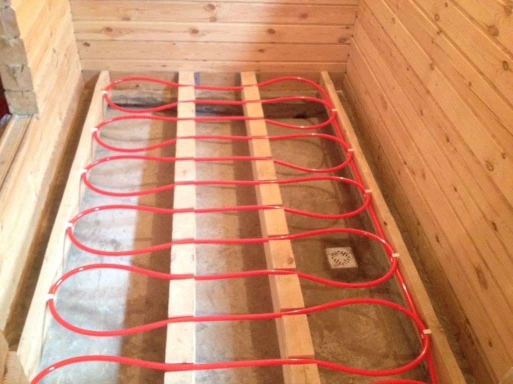 Как сделать теплый пол по деревянным лагам своими руками