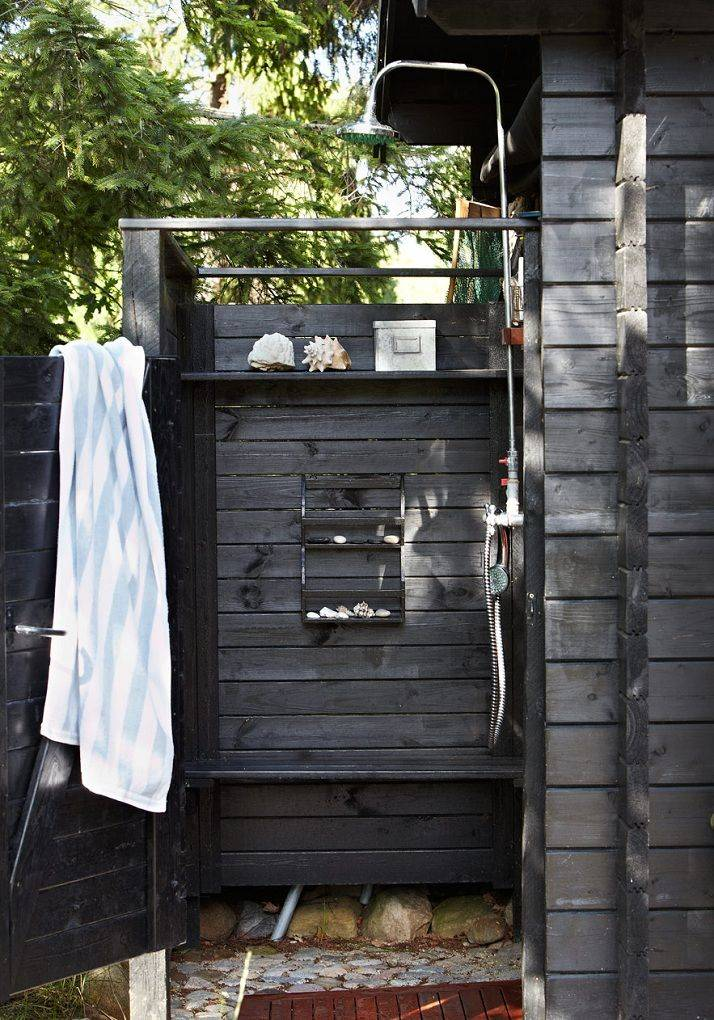 Летний душ своими руками - 115 фото лучших вариантов и обзор дизайнерских идей