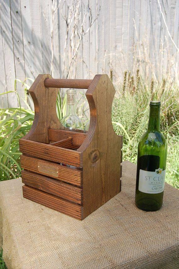 Как обустроить дом с помощью старых винных ящиков