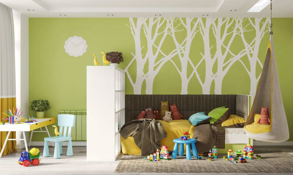 Как оформить детскую комнату для девочки разного возраста, выбрать мебель и цвет в интерьере