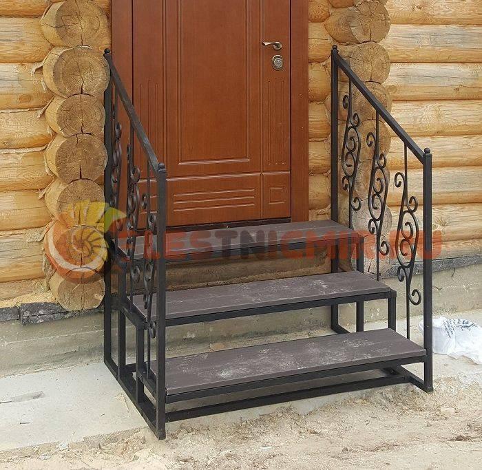 Принципы изготовления кованых лестниц для бани