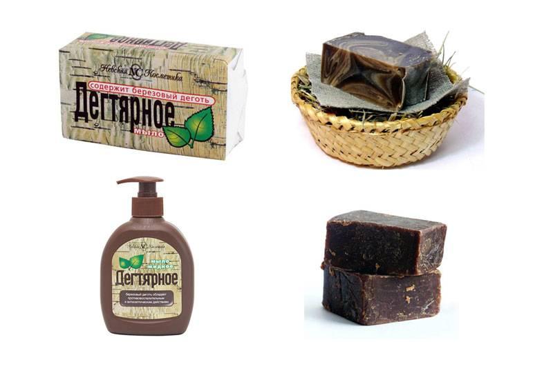 Дегтярное мыло — польза и вред