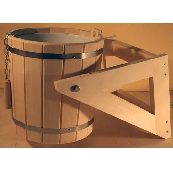 Как сделать деревянное ведро для бани