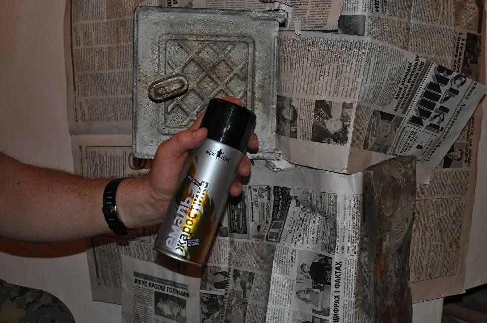 Чем покрасить печь в бане из металла: магазинные краски и сделанные самостоятельно