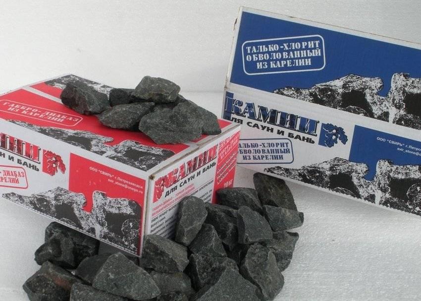 Камни для бани: свойства, сравнение, таблица, цены