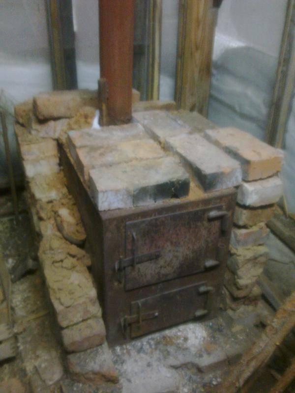 Как обложить железную печь в бане кирпичом своими руками: все этапы работы