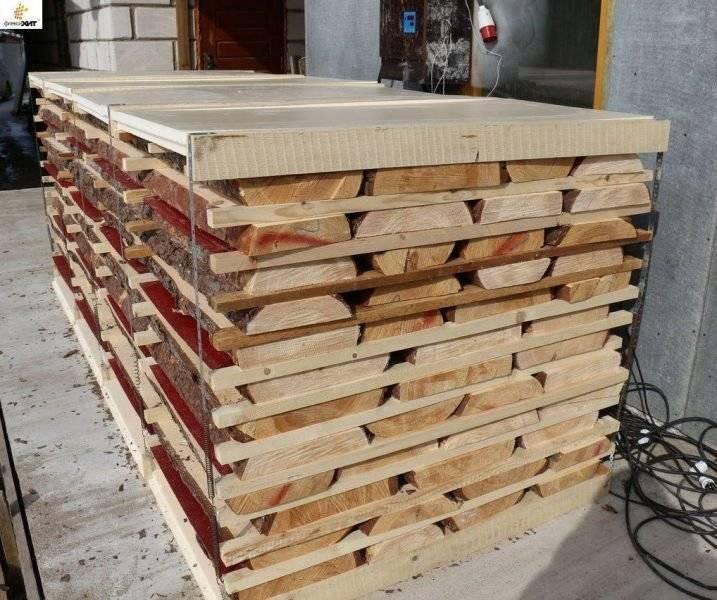 Как сушить древесину: естественная сушка и искусственные методы в домашних условиях