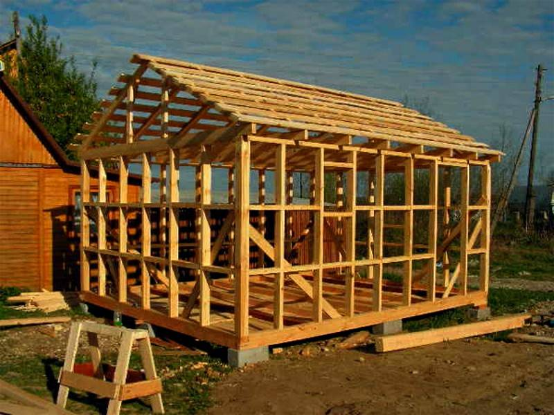 Бюджетная баня своими руками: как дешево построить?