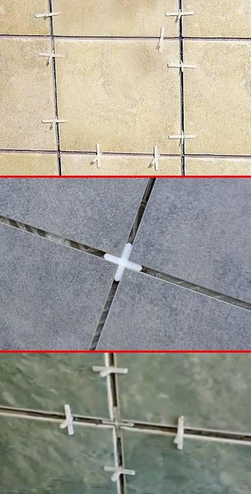 Крестики для плитки: как выбрать, размеры, расход на 1 м2 при укладке на пол и стены