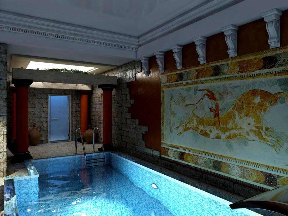 Греческий стиль в интерьере: особенности дизайна, 100+ фото квартир в греческом стиле