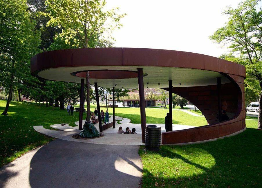 Лучшие городские парки россии