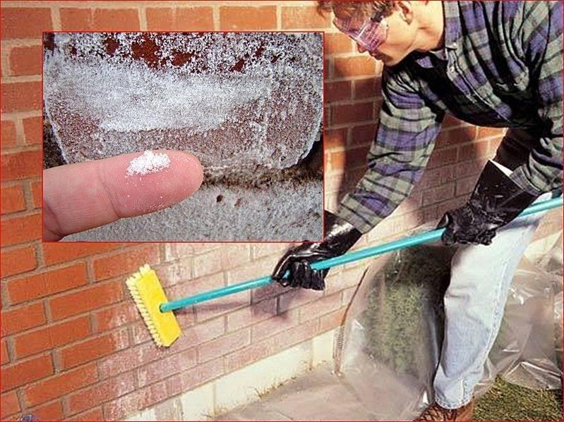 Как предотвратить и удалить высолы на кирпичной кладке