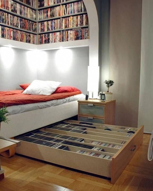 Как правильно поставить кровать в спальне: советы, схемы и фото-примеры